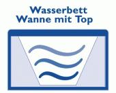 Wasserbett Wanne mit Top