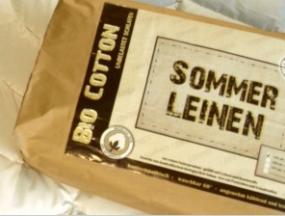 Bio Leinen Sommerdecke - Garanta KBA - Extra Leicht
