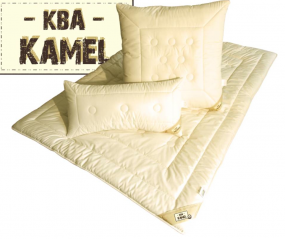 Bio Kamelhaar-Steppdecke - Garanta Natur KBA - Duo-Warm