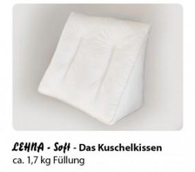 """Lehna """"Soft"""" - Lesekissen für Wasserbetten"""