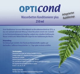 OPTIcond Wasserbetten Konditionierer PLUS - 250ml